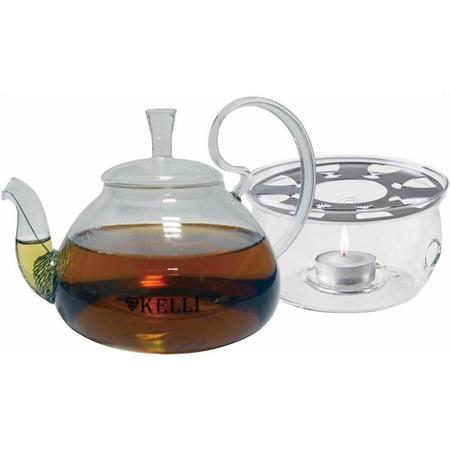 Купить Чайник заварочный на подставке Kelli KL-3095