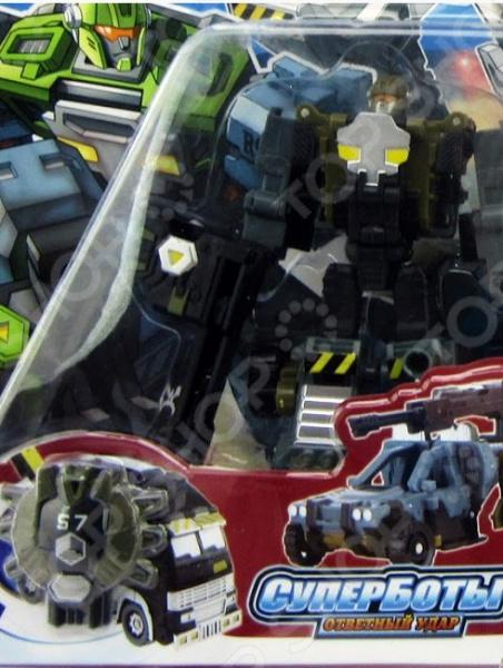 Робот-трансформер Город игр «Багги с пушкой». В ассортименте