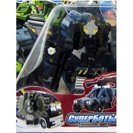 Купить Робот-трансформер Город игр «Багги с пушкой». В ассортименте