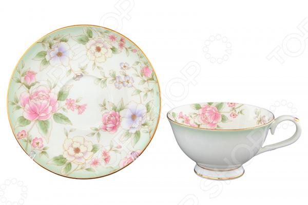 Чайная пара Elan Gallery «Карнавал цветов» elan gallery чайная пара карнавал цветов