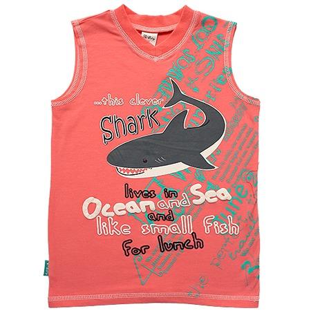 Купить Майка для мальчиков V-Baby «Акула»