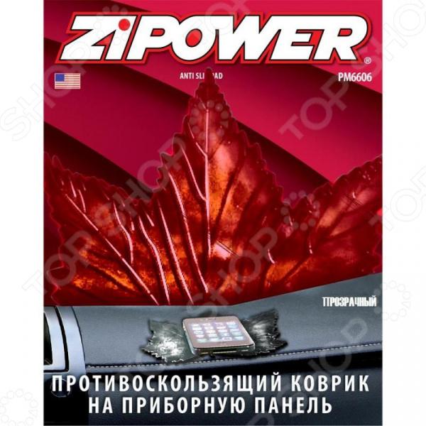 Коврик противоскользящий на приборную панель Zipower PM 6606 коврик на приборную панель zipower pm 6606