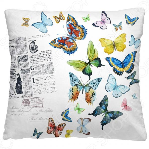 Подушка декоративная Волшебная ночь «Бабочки»