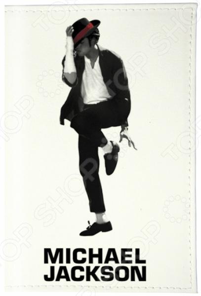 Обложка для паспорта кожаная Mitya Veselkov «Майкл Джексон» обложка для паспорта printio майкл джексон