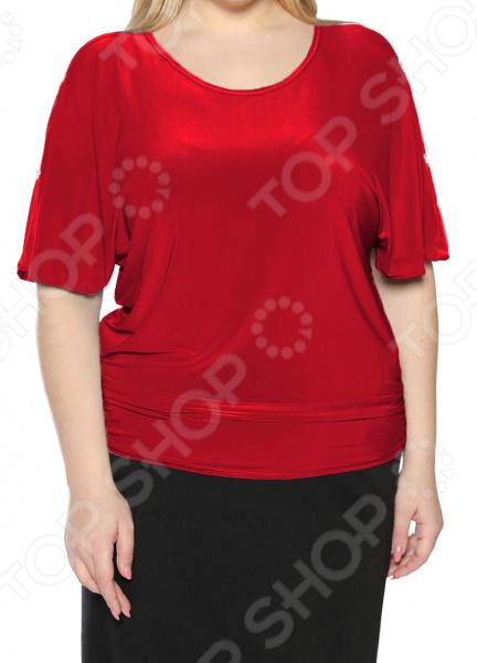 Блуза Pretty Woman «Фруктовый заряд». Цвет: красный цена 2017