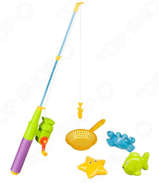 Игрушка для ванны детская Happy Baby Little Fishman