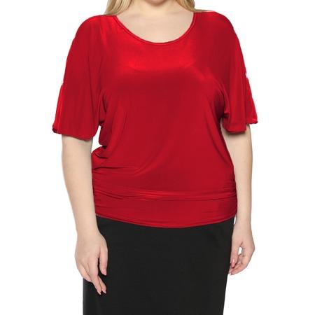 Купить Блуза Pretty Woman «Фруктовый заряд». Цвет: красный