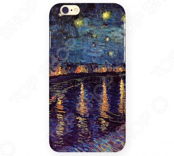 Чехол для iPhone 6 Mitya Veselkov «Ван Гог: Ночь над Роной» чехол для iphone 5 mitya veselkov ван гог ночь над роной