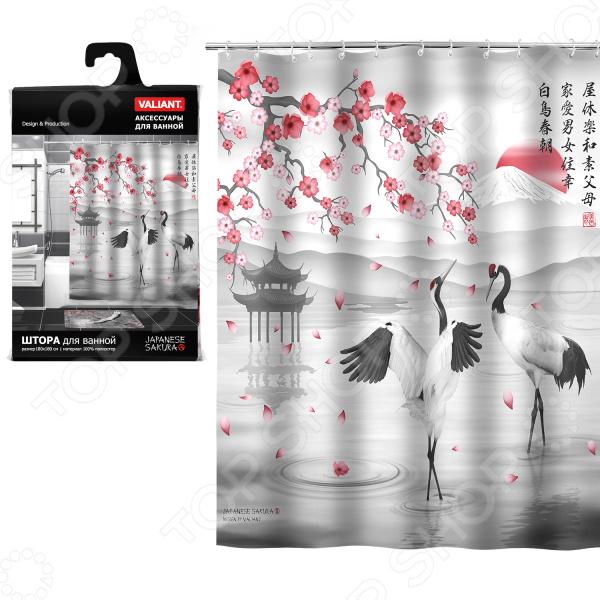 Штора для ванной Valiant Japanese Sakura