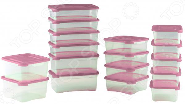 Набор контейнеров для продуктов Полимербыт «Каскад»