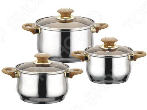 Набор кастрюль Bekker Jumbo BK-963 набор посуды bekker jumbo вк 963