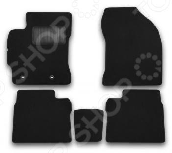 Комплект ковриков в салон автомобиля Klever Toyota Corolla 2013 Premium