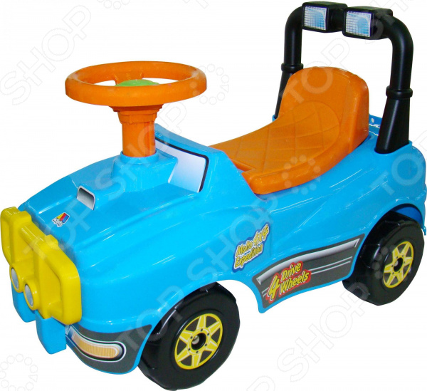 Машина-каталка Molto без звукового сигнала «Джип»
