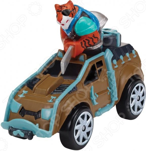 Машинка игрушечная с фигуркой Nickelodeon «Тигриный коготь на Сафари-джипе»