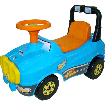 Купить Машина-каталка Molto без звукового сигнала «Джип»