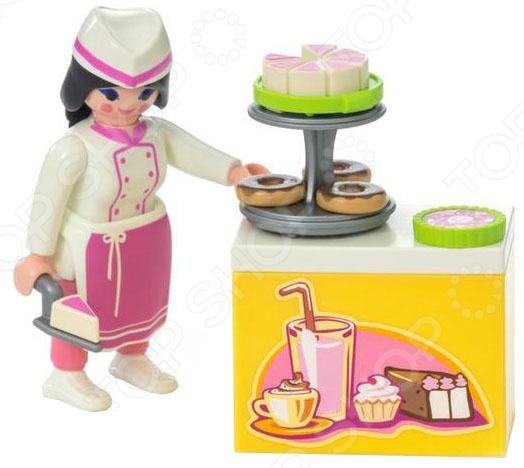 Игровой набор Playmobil «Экстра-набор: Шеф-кондитер» игровые наборы playmobil экстра набор пожарник с гидрантом