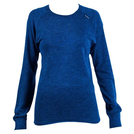 Купить Футболка термо Snodalen Long Sleeve Crew UC02. Цвет: темно-синий