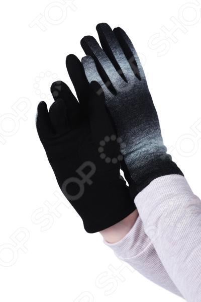 Перчатки Lorentino «Одри». Цвет: черный