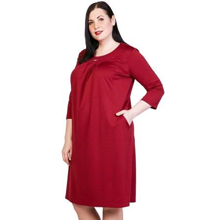 Купить Платье Лауме-Лайн «Счастливый взгляд». Цвет: бордовый