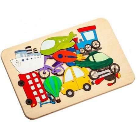 Купить Пазл деревянный Bradex «Транспорт»