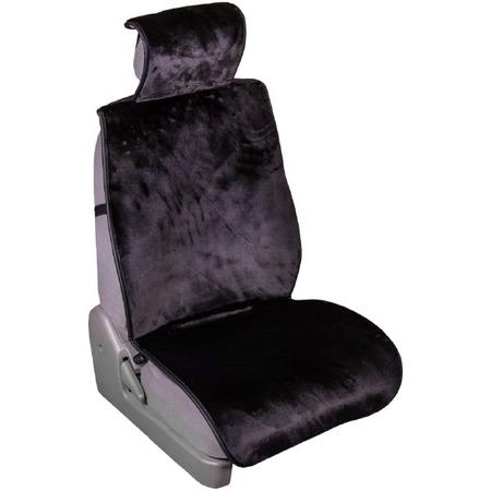 Купить Комплект из 5-ти меховых накидок на сиденье в салон автомобиля SKYWAY Arctic «Мутон» 108