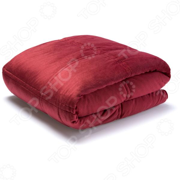 Плед-подушка Dormeo «Уют» 3 в 1. Цвет: алый. Уцененный товар