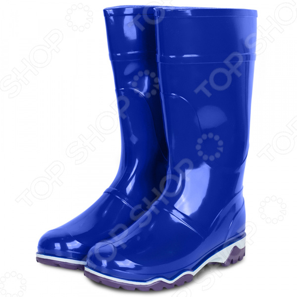 Сапоги резиновые Дюна 370. Цвет: темно-синий сапоги резиновые дюна р 37 цвет т синий