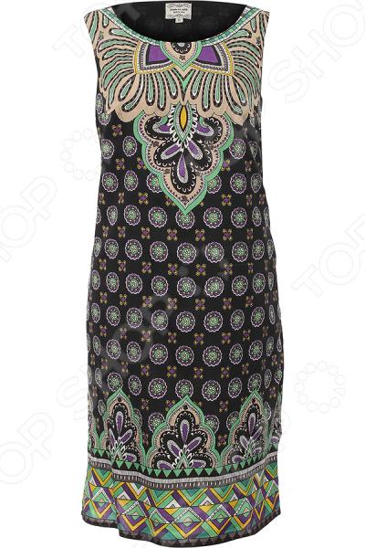 Платье Finn Flare S16-14080. Цвет: черный
