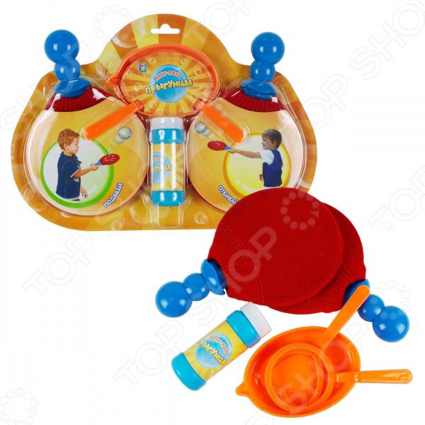Набор для игры в пинг-понг 1 Toy «Прыгунцы»