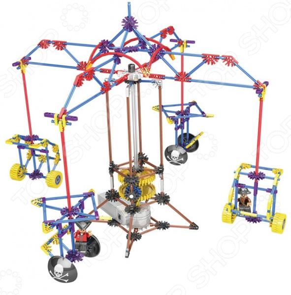 Конструктор электромеханический Loz PARK «Качели для двоих» конструктор электромеханический loz park четыре лопасти