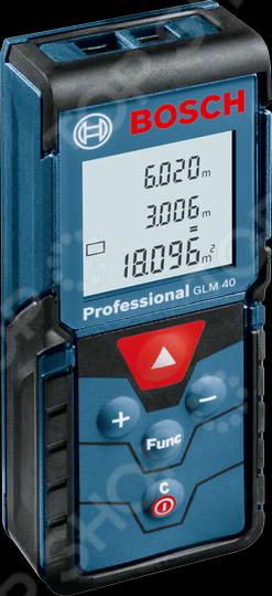 Дальномер лазерный Bosch GLM 40 Prof лазерный дальномер bosch glm 40 prof