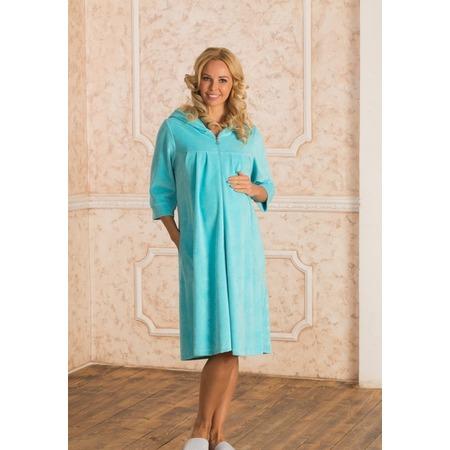 Купить Халат для беременных Nuova Vita 303.22. Цвет: голубой