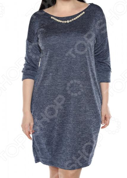 Платье Jenks «Жемчужная романтика». Цвет: синий платья jenks платье