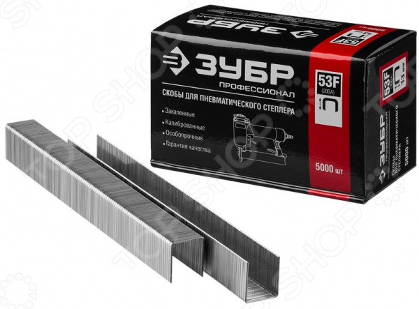 Скобы для степлера Зубр тип 53F 31950