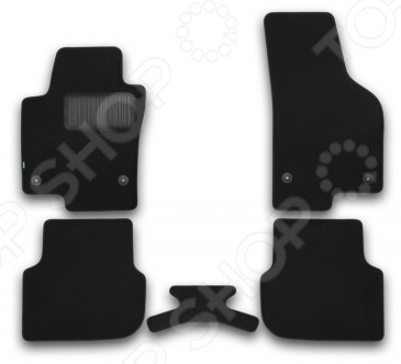 Комплект ковриков в салон автомобиля Klever Volkswagen Jetta 2011 Premium набор автомобильных ковриков klever для volkswagen jetta 2011 седан в салон 4 шт kvr02513801210kh