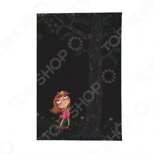 Визитница Mitya Veselkov «Девочка в розовом платье ночью»