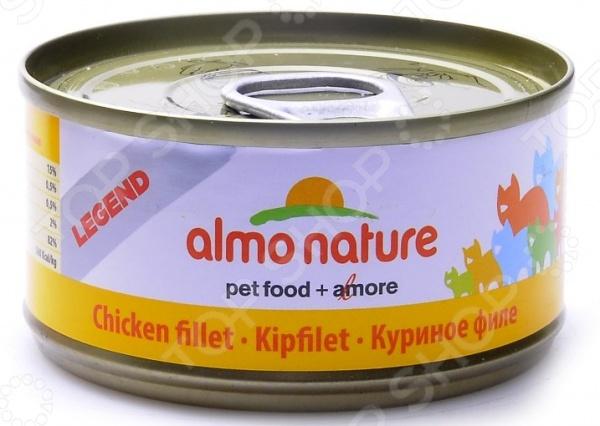 Корм консервированный для кошек Almo Nature Legend «Куриное филе»