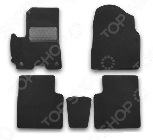 Комплект ковриков в салон автомобиля Klever Lifan X60 2012 Premium