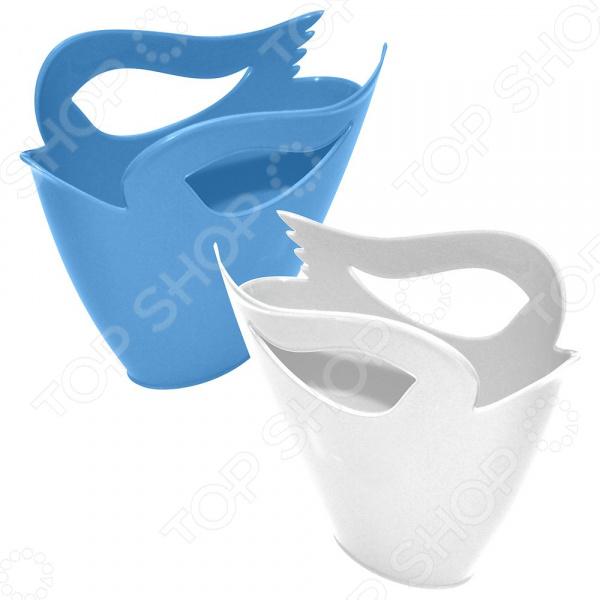 Держатель аксессуаров для ванной комнаты Мультидом «Лебедь» VL34-81. В ассортименте насадка для крана мультидом слоник vl34 42