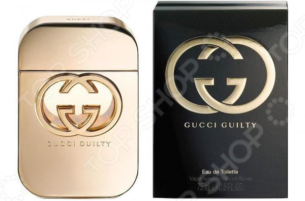 Туалетная вода для женщин Gucci Guilty, 75 мл gucci туалетная вода flora by gucci fraiche 75 ml