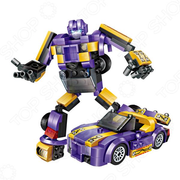 Конструктор-игрушка Loz «2 в 1. Легковой автомобиль» игрушка конструктор фиксики эластик спортивный автомобиль 2 в 1 fix0711 001