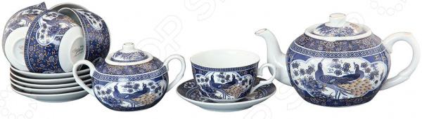 Чайный набор Elan Gallery «Павлин» 730501