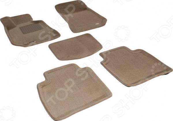 Комплект ковриков в салон автомобиля Skoda Superb 2008 Premium