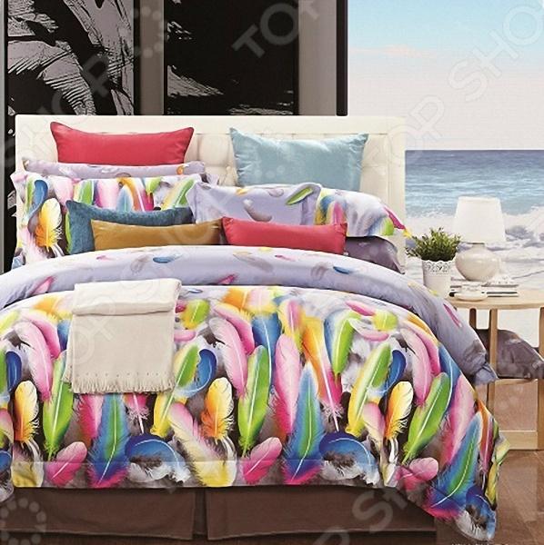 Комплект постельного белья Мар-Текс «Пёрышко» вероника ткачёва пёрышко на счастье