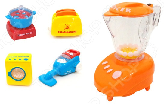 Игровой набор для ребенка S+S TOYS «Бытовая техника». В ассортименте море чудес игровой набор грот русалочки в ассортименте