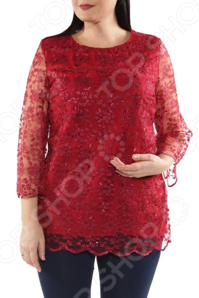 Блуза Blagof «Цветочный шик»