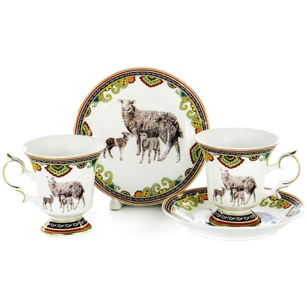 фото Чайная пара OlAff Jade Porcelain XXY-2XT-C4543