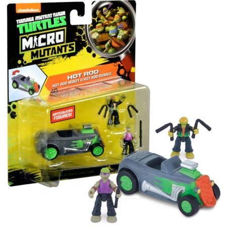 Купить Игровой набор Nickelodeon Hot Rod Mikey&Hot Rod Donnie