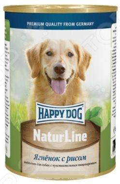 Корм консервированный для собак Happy Dog NaturLine с ягненком и рисом