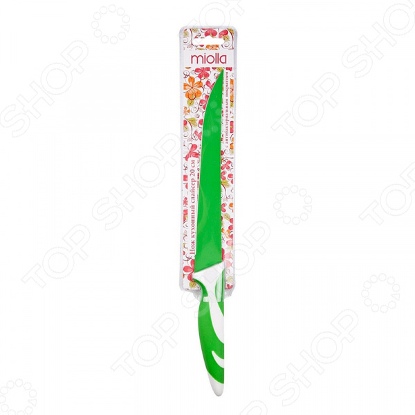 Нож Miolla слайсер «Зеленый»